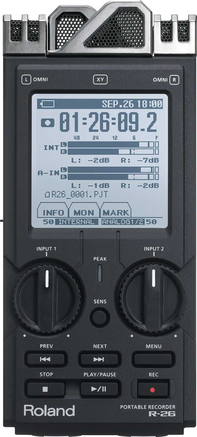 Roland 6-Channel Portable Recorder