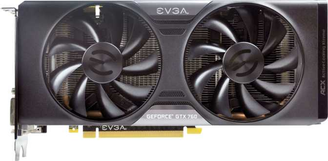 EVGA GeForce GTX 760 4GB FTW w/ ACX Cooler