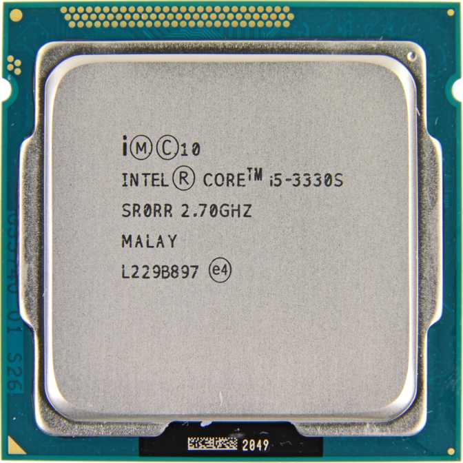 Intel Core i5-3330S
