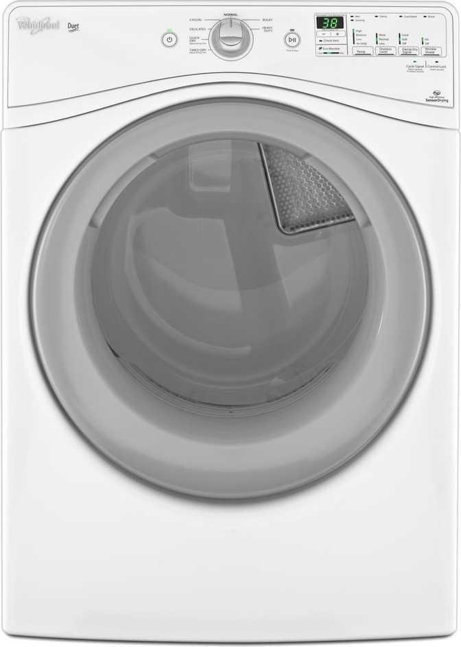 Whirlpool WED80HEBW
