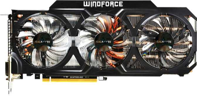 Gigabyte GeForce GTX 770 WindForce 3X OC 4GB