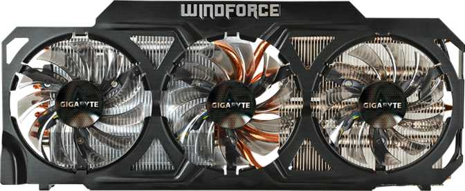 Gigabyte GeForce GTX Titan WindForce 3X OC