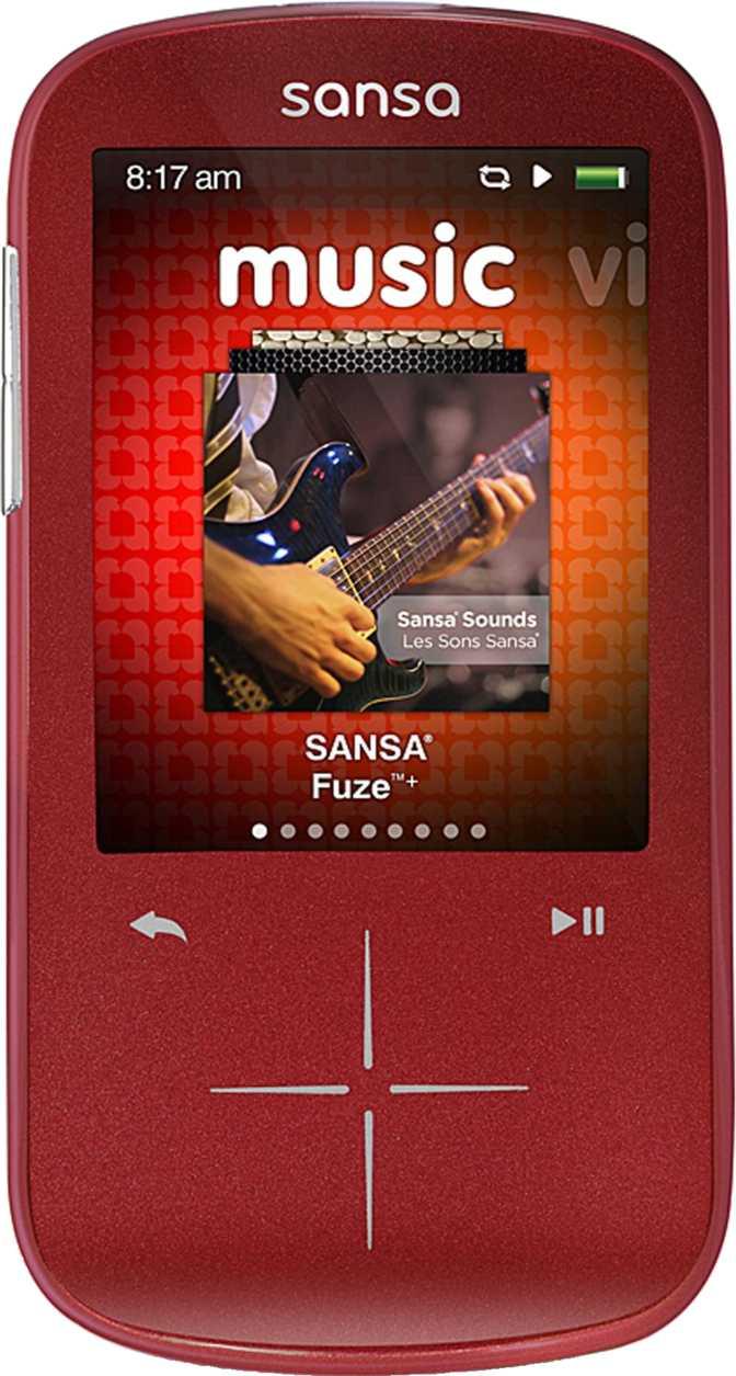 SanDisk Sansa Fuze+ 8GB
