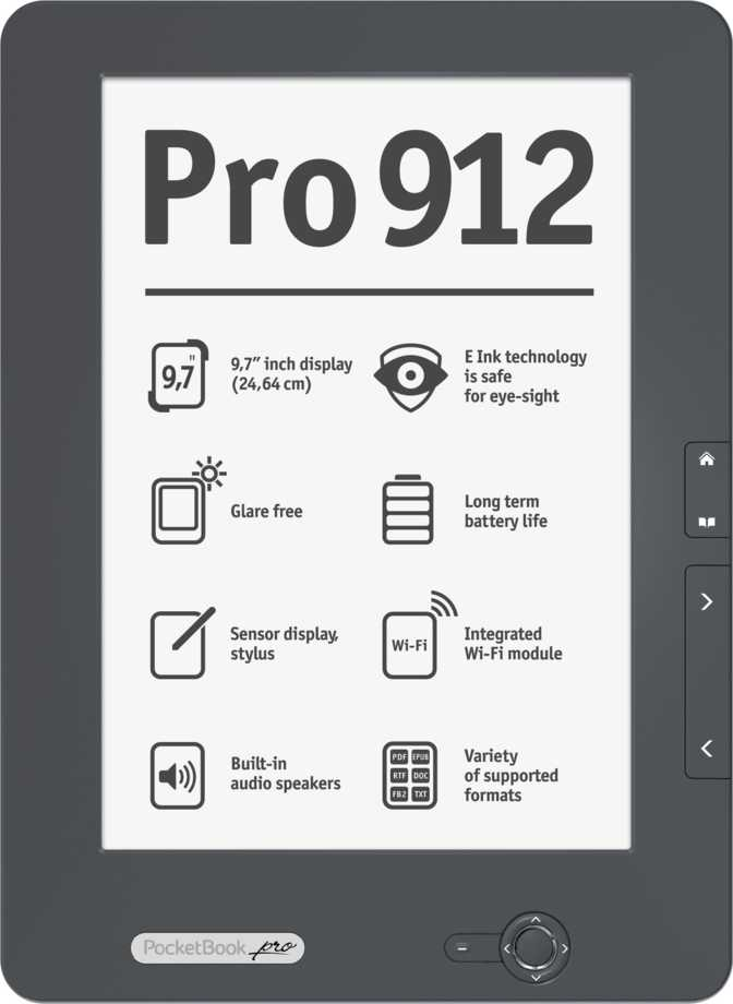 ≫ Amazon Kindle Paperwhite 3G vs PocketBook Pro 912: What
