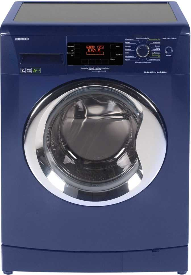 Beiko WMB 71443 PTE Blue