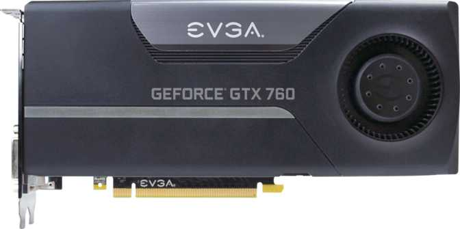 EVGA GeForce GTX 760 w/ EVGA Cooler