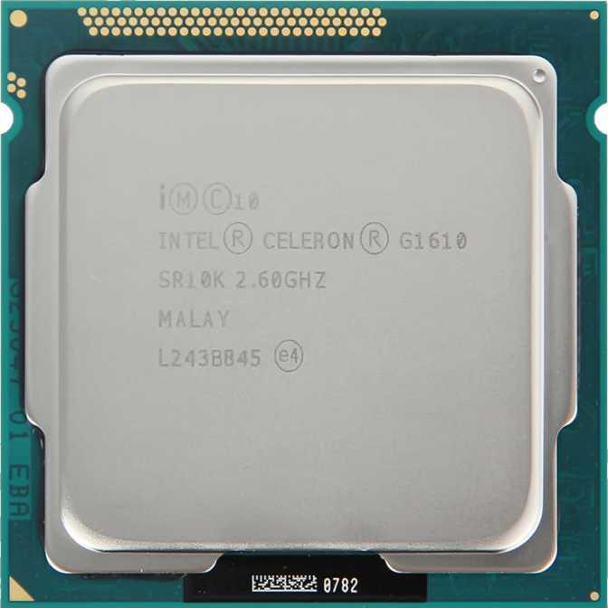 Intel Celeron G540