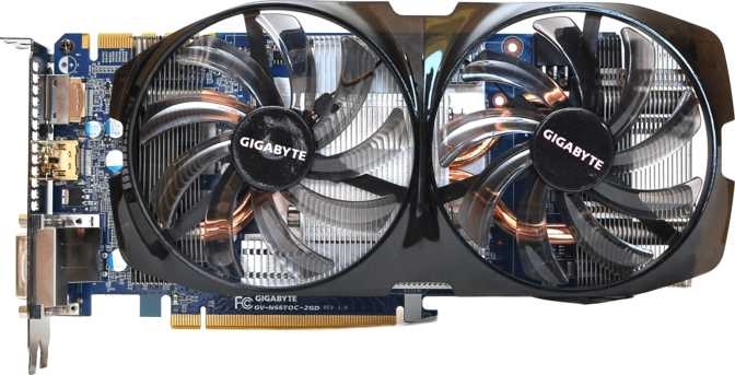 Gigabyte GeForce GTX 650 Ti Boost WindForce 2X 1GB