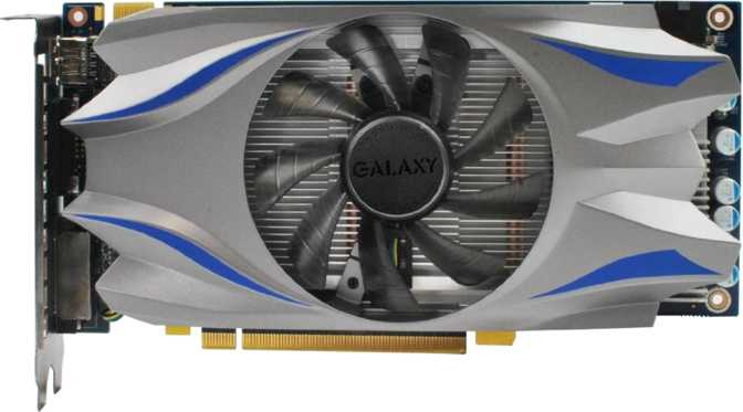 Galaxy GeForce GTX 650 Ti Boost 1GB