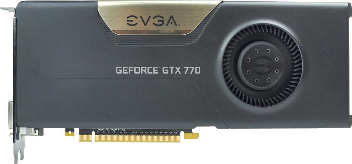 EVGA GeForce GTX 770 4GB w/ EVGA Cooler