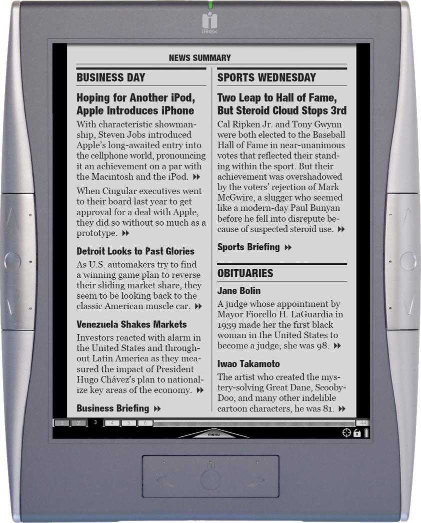Irex technologies Digital Reader 1000
