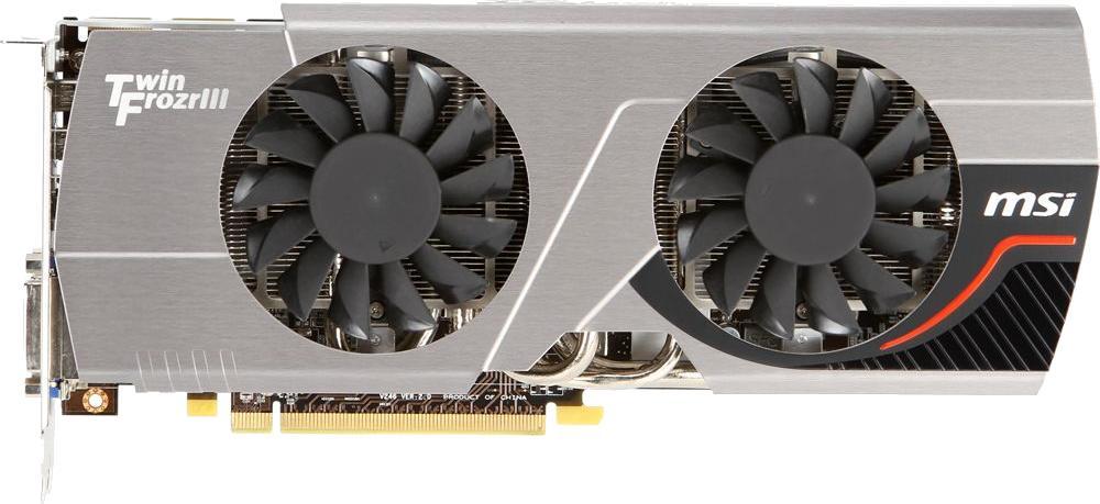 MSI Radeon HD 7970 TwinFrozr III BE