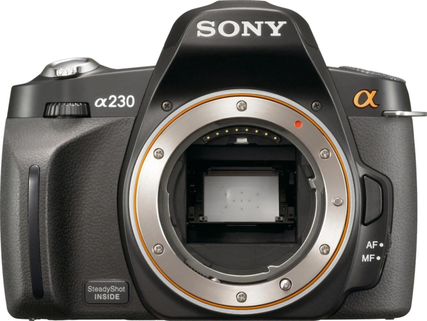 Sony A230 DSLR