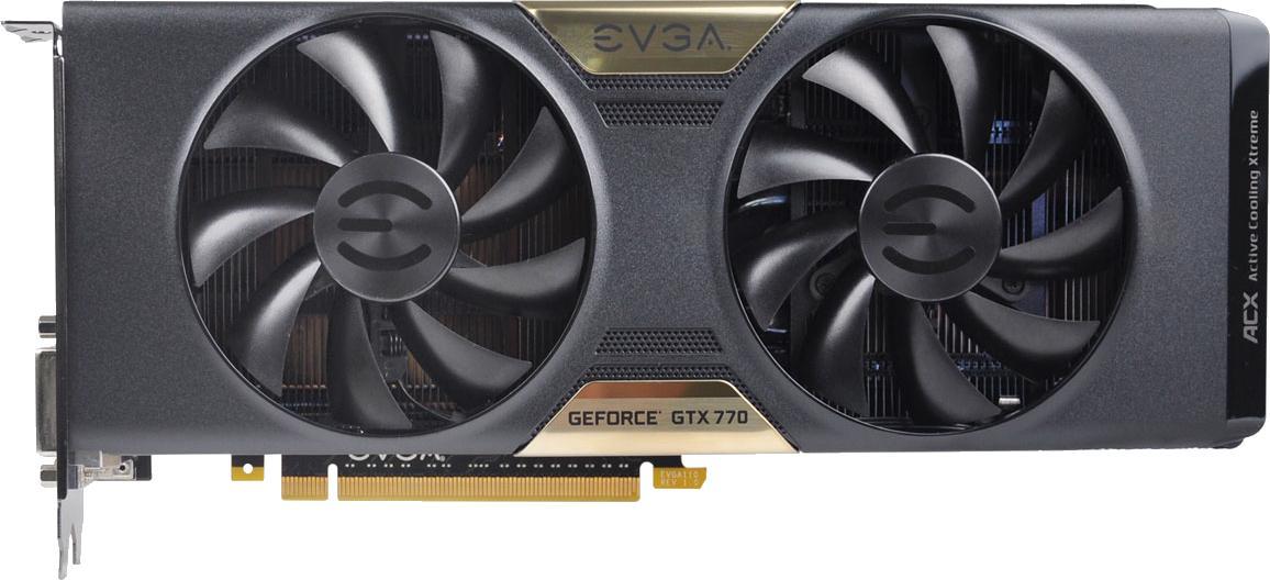 EVGA GeForce GTX 770 4GB w/ ACX Cooler