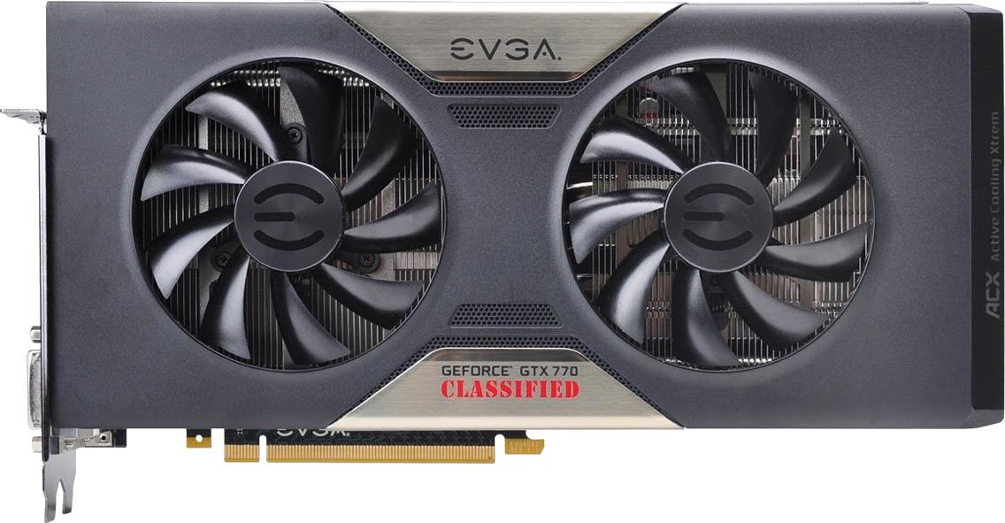 EVGA GeForce GTX 770 Classified w/ ACX Cooler