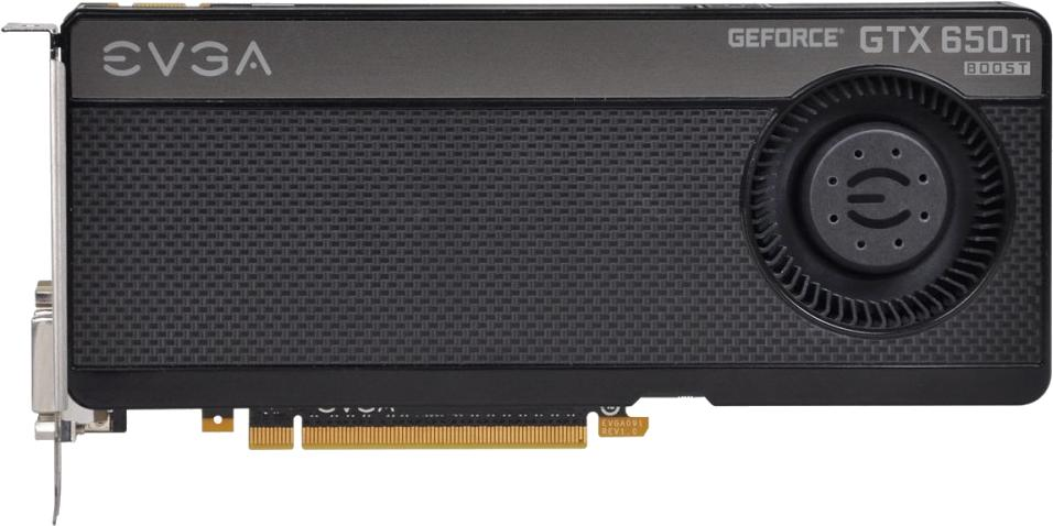 EVGA GeForce GTX 650 Ti Boost Superclocked 2GB