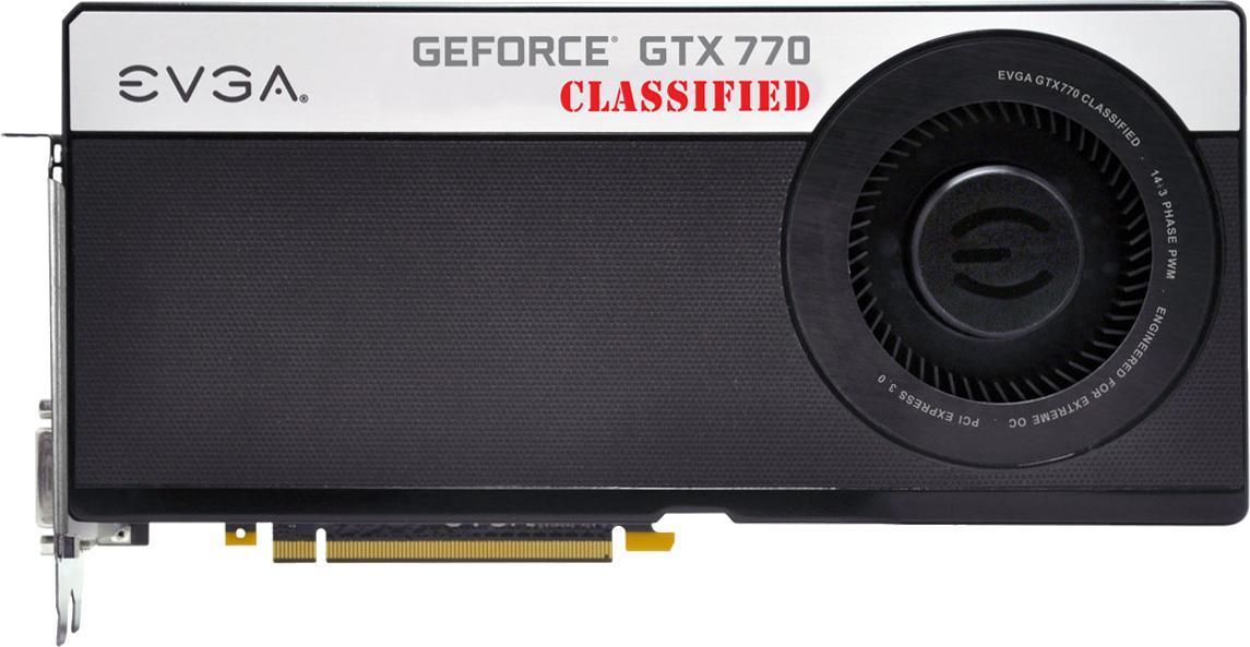 EVGA GeForce GTX 770 Classified w/ EVGA Cooler