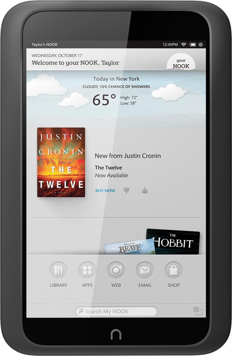 Barnes & Noble NOOK HD Smoke 16GB