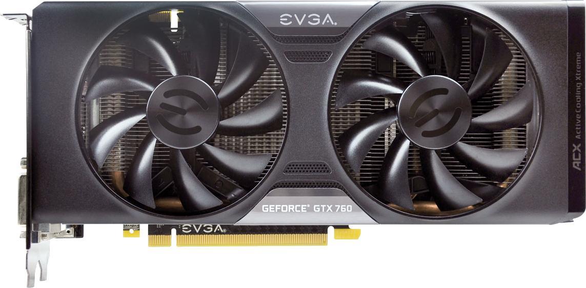 EVGA GeForce GTX 760 4GB FTW w/ ACX Cooler