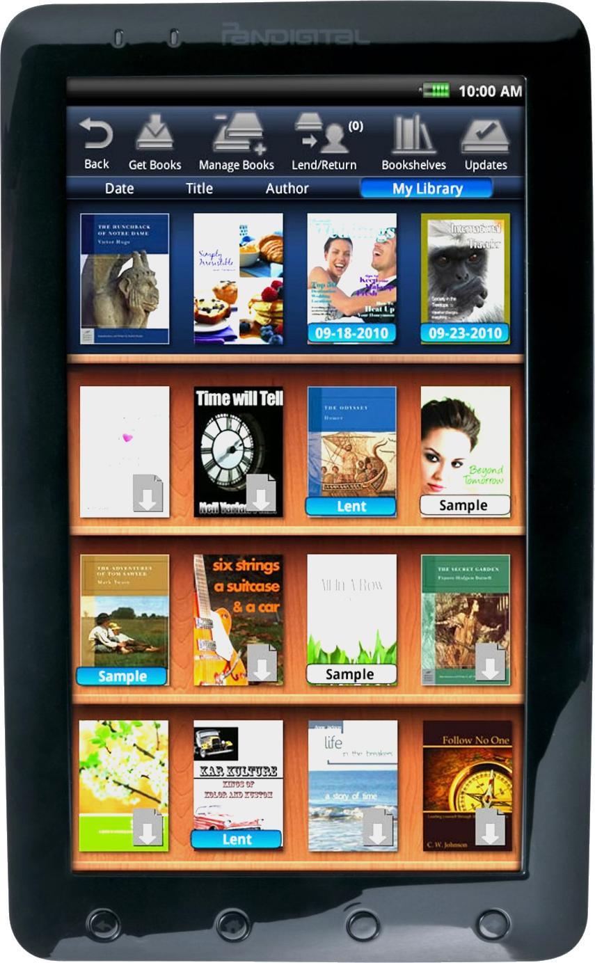 "Pandigital Novel 9"" Color Multimedia R90L200"