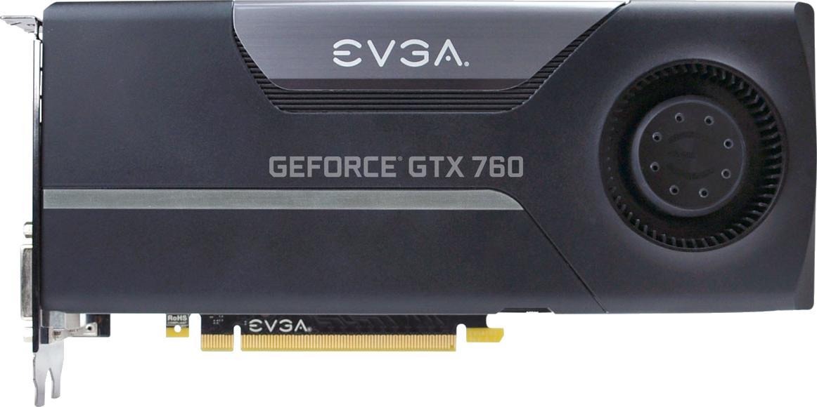 EVGA GeForce GTX 760 SC w/ EVGA Cooler