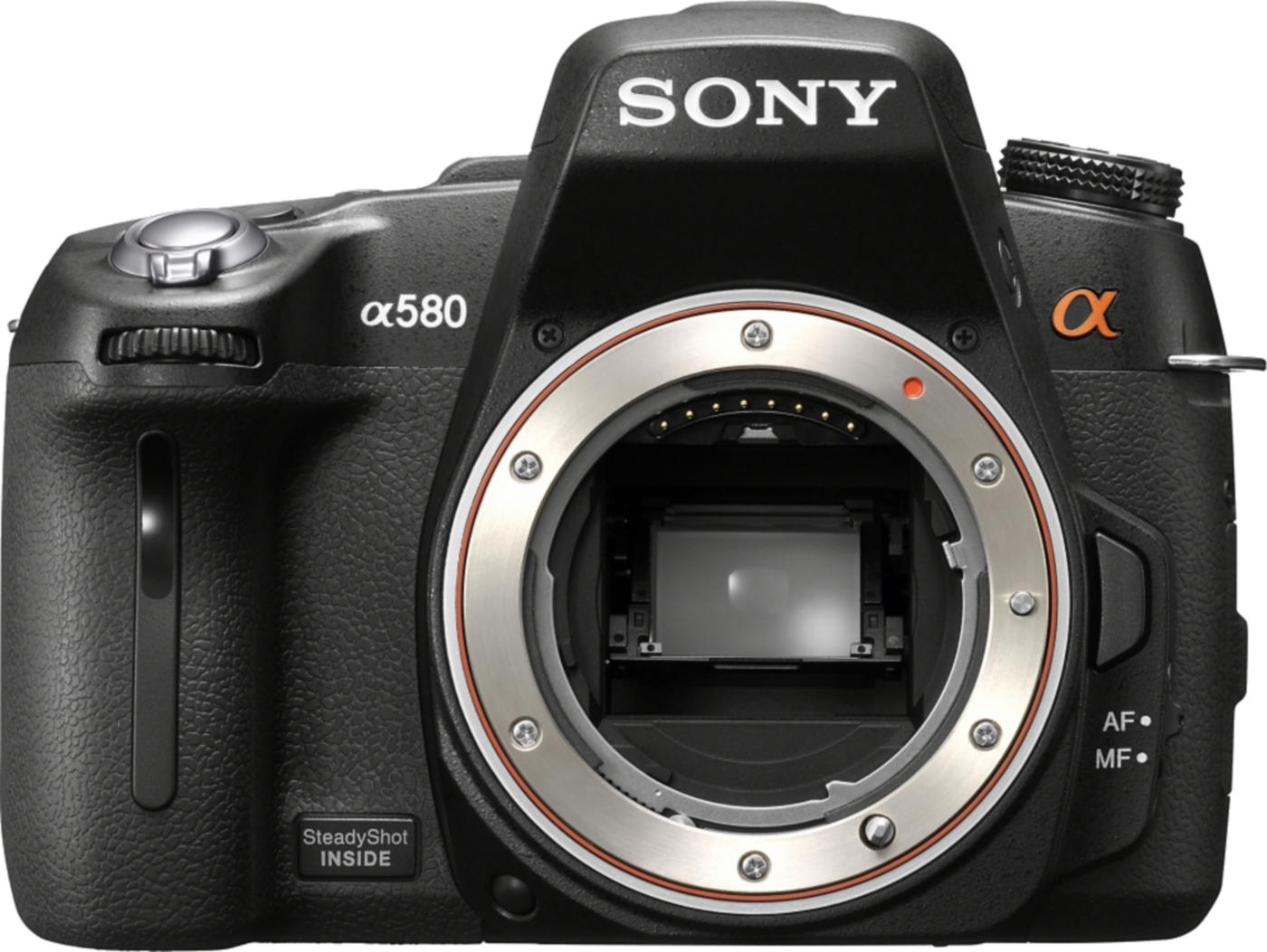 Sony A580 DSLR
