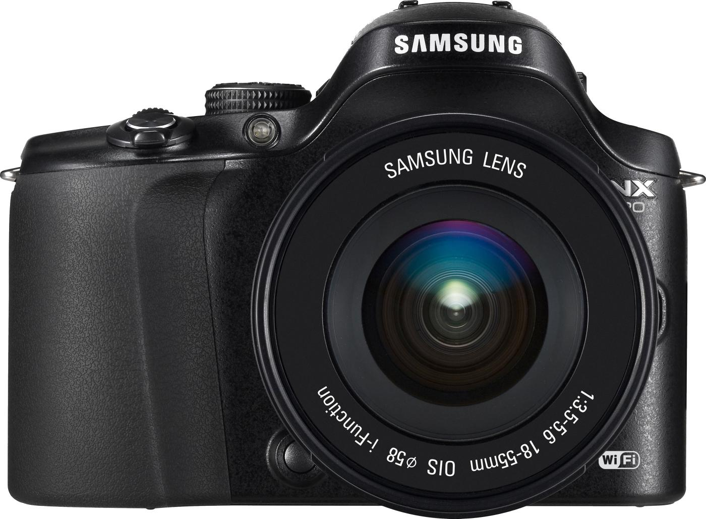 Samsung NX20 + Samsung 18-55mm f/3.5-5.6 OIS iFunction