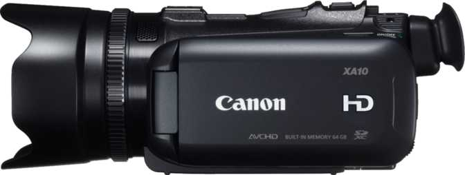 ≫ Canon EOS C100 Mark II vs Canon XA10: What is the difference?