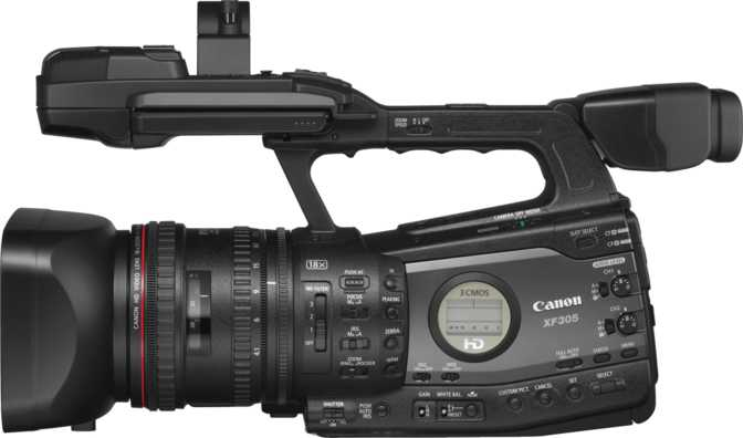 ≫ Canon EOS C100 Mark II vs Canon XF305: What is the