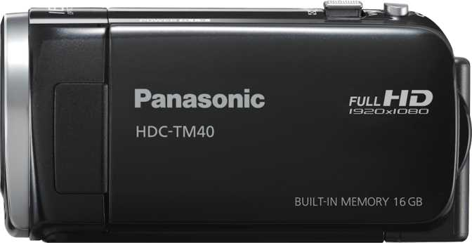 Panasonic HDC-TM40