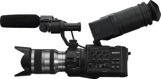 Sony NEXFS100UK