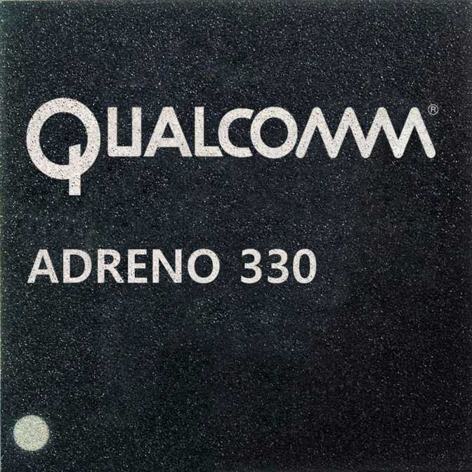 Qualcomm Adreno 330 (550MHz)