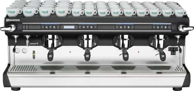 Rancilio Classe 9 USB 4 Group