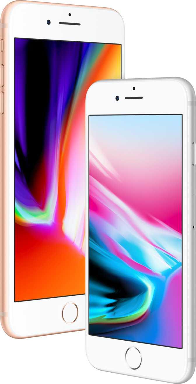 Apple iPhone 8 et 8 Plus