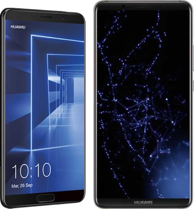 Huawei Mate 10 e Mate 10 Pro