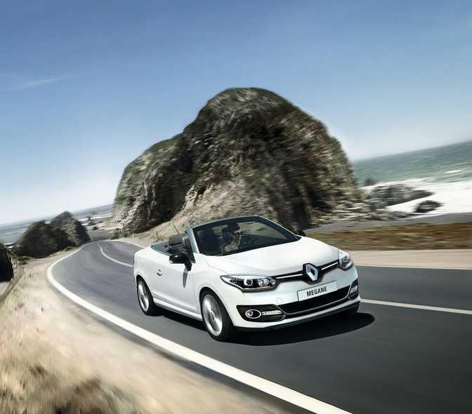 Renault Megane Coupe-Cabriolet  2.0 CVT (2014)