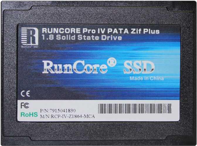 RunCore Pro IV 256GB