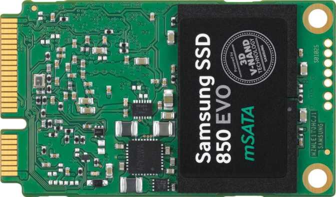 Samsung 850 Evo 500GB mSATA