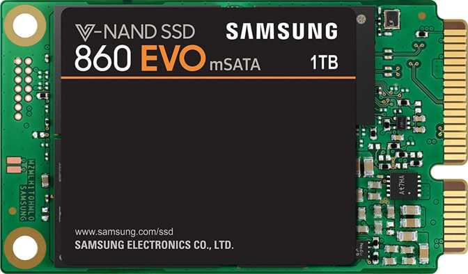 ≫ Samsung 860 Evo 1TB mSATA vs Samsung 970 Evo NVMe M 2