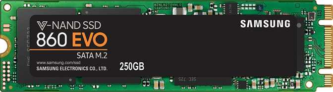 Samsung 860 Evo 250GB M.2 2280