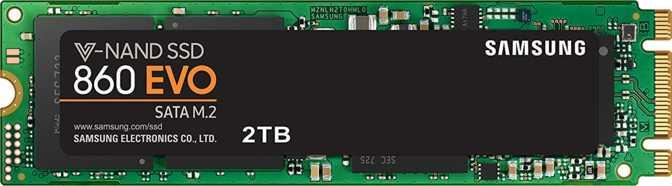 Samsung 860 Evo 2TB M.2 2280