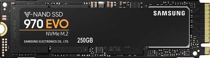 Samsung 970 Evo NVMe M.2 2280 250GB
