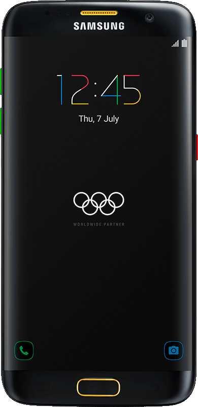 Samsung Galaxy S7 edge Olympic Games Edition