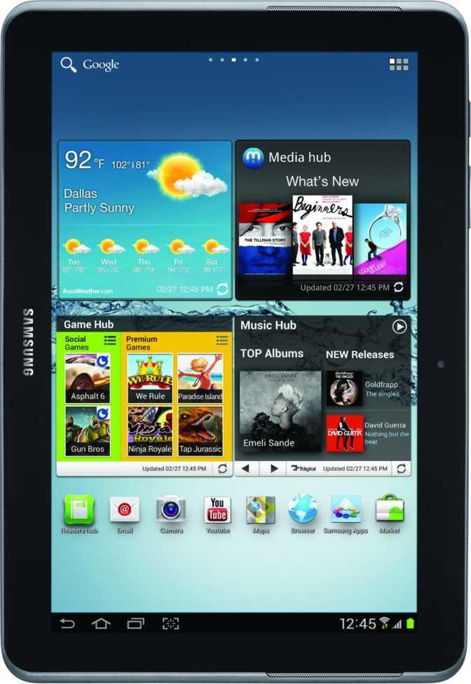 Samsung Galaxy Tab 2 10.1 P5110 32GB