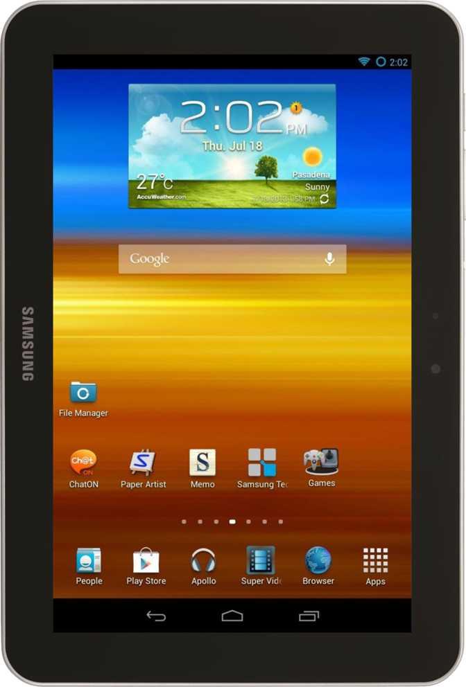 Samsung Galaxy Tab 8.9 4G P7320T 32GB