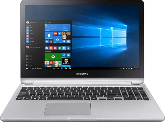 "Samsung Notebook 7 Spin 15.6"" Intel Core i7-6500U 2.5GHz / 16GB / 1TB"