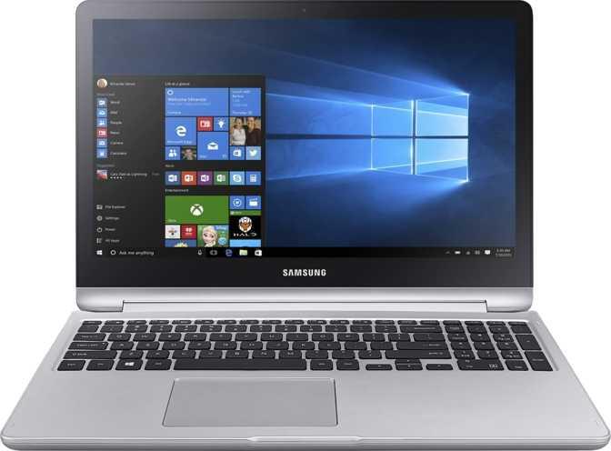 "Samsung Notebook 7 Spin 15.6"" Intel Core i7-7500U 2.7GHz 16GB / 1TB HDD + 128GB SSD"