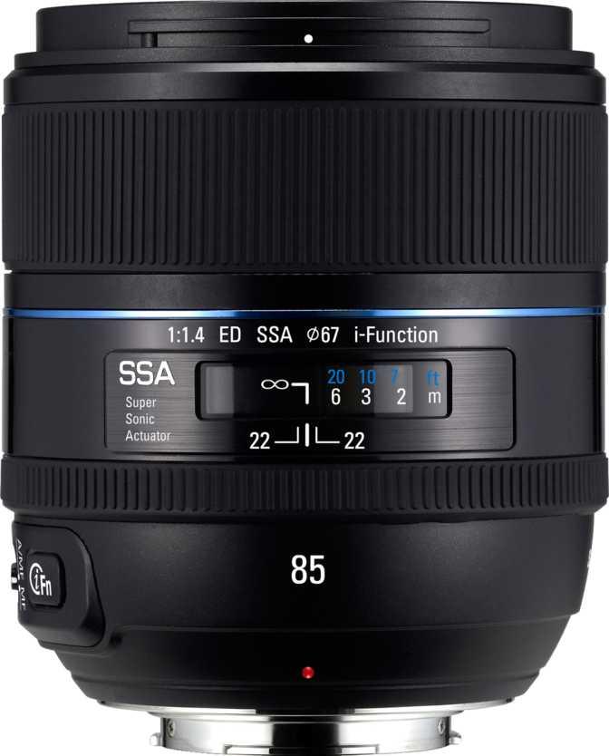 Samsung NX 85mm F1.4 ED SSA