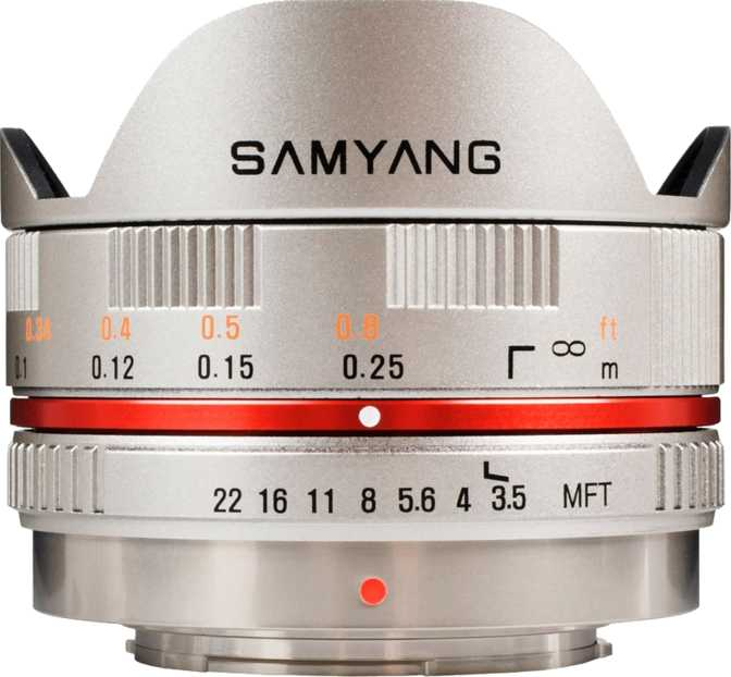 Samyang 7.5mm F/3.5 UMC Fish-eye MFT