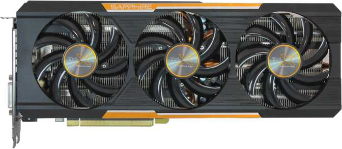 Sapphire Tri-X Radeon R9 390X With Back Plate